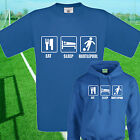 EAT, SLEEP, HARTLEPOOL FOOTBALL T SHIRT / HOODIE - KIDS ADULTS  TOP