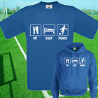 EAT, SLEEP, IPSWICH FOOTBALL T SHIRT / HOODIE - KIDS ADULTS  TOP
