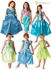 Girls Official Classic Cinderella Disney Princess Costume Book Week Fancy Dress