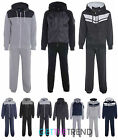 Mens Casual Fleece Full TrackSuit Jogging Top Bottoms Hoodie Suit Track Suit
