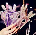 Super Bling Diamond Crystal Clear Silicone Back Case Cover For iPhone 5 5S Girl