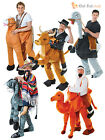 Adults Animal Fancy Dress Costumes Ostrich Camel Mexican Cowboy Stag Do Outfit