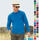 Fruit of the Loom Heavy Cotton Long Sleeve T-Shirt 4930 4930R S-3XL-37 COLORS!