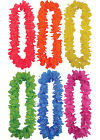 Neon Flower Lei Garland Hawaiian Fancy Dress Accessory - Choice of 6 Colours New