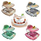 FoxHunter New Musical Toy Activity Infant Baby Walker & Rocker 2 In 1 Play Tray