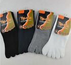 Men's Women's Running Sport Five Toe Socks FINGER SHOES --UK OD