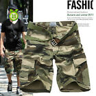 Casual Camouflage Military Short Pants for Men Combat Cargo Camo Army Shorts