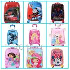 "New Girls Boys Trolley Case Wheeled Suitcases Rolling Luggage 18""/H47*L33*W23cm"