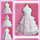 Off Whites Christmas Wedding Party Bridesmaid Flower Girls Dresses SIZE 2 to 10T