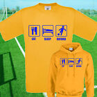 EAT, SLEEP, OXFORD FOOTBALL T SHIRT / HOODIE - KIDS ADULTS  TOP