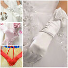 Christmas Pageant Wedding Party Flower Girls Elbow Length Gloves SIZE AGE 3-14T