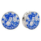 GEISHA PAIR Logo Ear Plugs Jewelry Stash Hide Earlets
