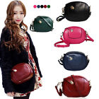BA109 Vintage Womens Messager Bag Girls Small Evening Clutch PU Leather Bag