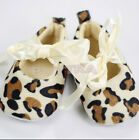 Hong Kong New Baby Girl Toddler Leopard Soft Sole Walking Shoes Sneaker Newborn