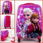 "New Frozen Elsa and Anna Wheeled Suitcases Rolling Luggage 18""/H47*L33*W23cm"