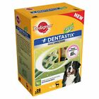 56 packs PEDIGREE DENTASTIX FRESH SMALL MEDIUM AND LARGE DOG OPTIONS DOG TREATS