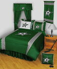 Dallas Stars Comforter Bedskirt Shams Pillowcase Valance Twin to King