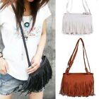 Magnifique fille Sac original Fashion Fringe Tassel Shoulder Messenger Handbag