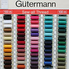 Gutermann Sew-All Sewing Machine Thread 100m Reel in Choice of Colours Group 3