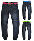 Girls Skinny Denim Blue Jeans Elasticated Cuffs New Age 2 3 4 5 6 7 8 9 10 Years