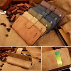 Cowhide Real Leather Flip Stand Wallet Case Cover For Apple iPhone 6 5 5s 5c