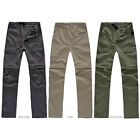 Brand New Men Safari Sun Protection Fast Dry Summer Fabric Breathable Pants TBUS