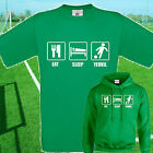 EAT, SLEEP, YEOVIL FOOTBALL T SHIRT / HOODIE - KIDS ADULTS  TOP