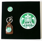 Any Your FAVOURITE LOGO Made Into A Keyring, Pin Badge & Magnet GIFT SET!!!