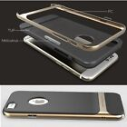 Neo Hybrid Gold Hard Bumper Soft Rubber Case Cover Skin for Apple iPhone 6 4.7""