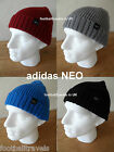 adidas Neo FISHERMANS BEANIE HAT New Tags Black Blue Grey Maroon Fisherman