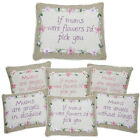 MUM CUSHION PILLOW LOVE CUDDLY MESSAGE GIFT SENTIMENTAL HOME DECORATION MOTHER