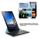 Universal Bluetooth Keyboard W / Blue Case For 9~10.1 Android Windows Tablet PC