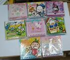 HK Sanrio Kitty Melody Pochacco 2015 Cartoon Mini Wall Calendar with String
