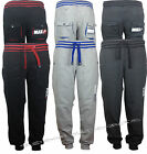 Mens Max MICHIGAN Fleece Jogging sweat pants tracksuit trousers bottoms