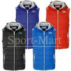 Mens Smith & Jones Full Zip Hooded Gilet Bodywarmer Quilted Padded Jacket Size