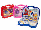 Kids Toddlers Childs Role Play Doctor Nurses Toy Medical Set Kit With Carry Case