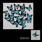 Transparent Film Butterfly #11 ULYSSES size 2 PRE-CUT 8, 16 or 30 suncatchers3D