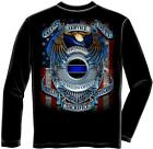 Erazor Bits FF2083 Long Sleeves Honor our fallen officers Long Sleeve T-Shirt