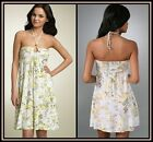 Free People Dress Anthropologie Sundress White Floral Summer Print Lorrani NWT