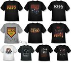 KISS Rock Band Group Face Destroyer Live Concert Logo Kid Boy Youth T-shirt Top