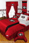Georgia Bulldogs Comforter Bedskirt Sham Pillowcase Valance Twin to King