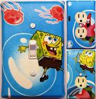 SpongeBob Square Pants custom Light Switch wall plate covers kids room Decor