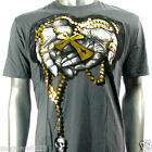 Artful Couture T-Shirt Sz M L XL XXL Cross Tattoo Street Skate Board Rock AG7 D1