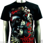 RC Survivor T-Shirt 3D PIERCE M L XL XXL 3XL Skull Tattoo Rock mma Biker T18 D2