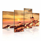 LANDSCAPE Country 11 Canvas 4A-RH Framed Printed Wall Art ~ 4 Panels