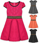 Girls Beaded Party Dress Kids Dresses Brand New Age 2 3 4 5 6 7 8 9 10 Years