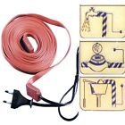 Heating Cable Pipe Freeze Prevention Protection kit meter gauge