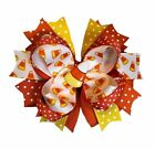 Candy Corn Boutique Hair Bow