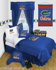 Florida Gators Bed in a Bag Valance Locker Room Twin Full Queen Comforter Set