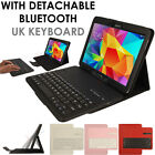 "Samsung Galaxy Tab 4 10.1"" T530 / T535 Bluetooth Keyboard Leather Case + Stand"